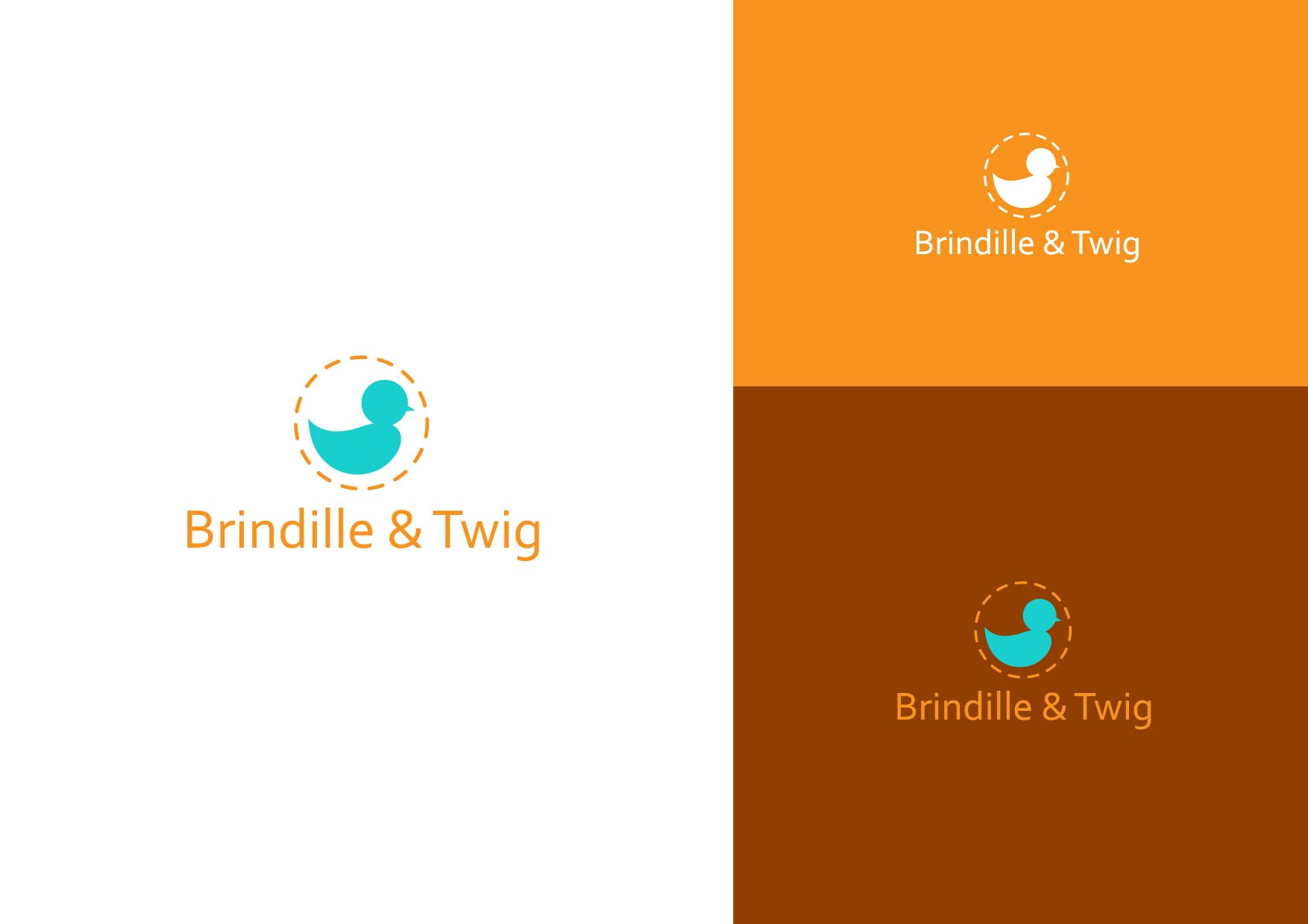 Logo Design by Osi Indra - Entry No. 30 in the Logo Design Contest Logo Design for Brindille & Twig.