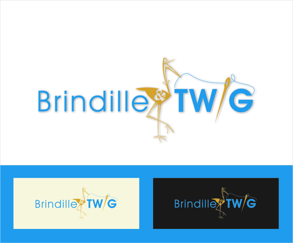 Logo Design by RasYa Muhammad Athaya - Entry No. 32 in the Logo Design Contest Logo Design for Brindille & Twig.