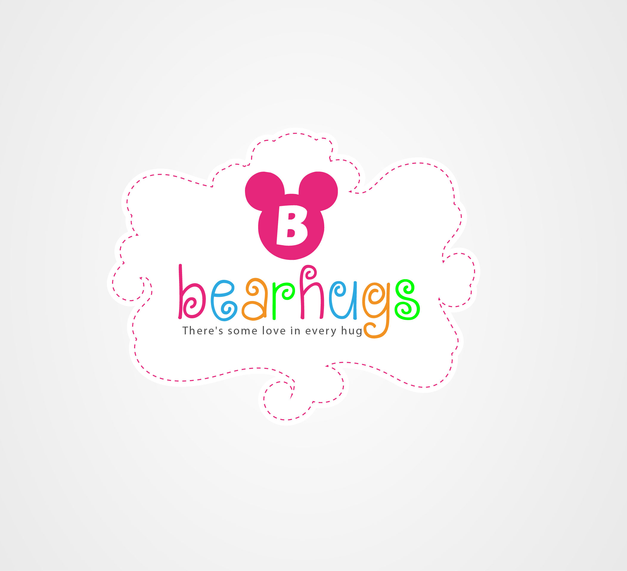 Logo Design by Darina Dimitrova - Entry No. 57 in the Logo Design Contest Inspiring Logo Design for BearHugs.