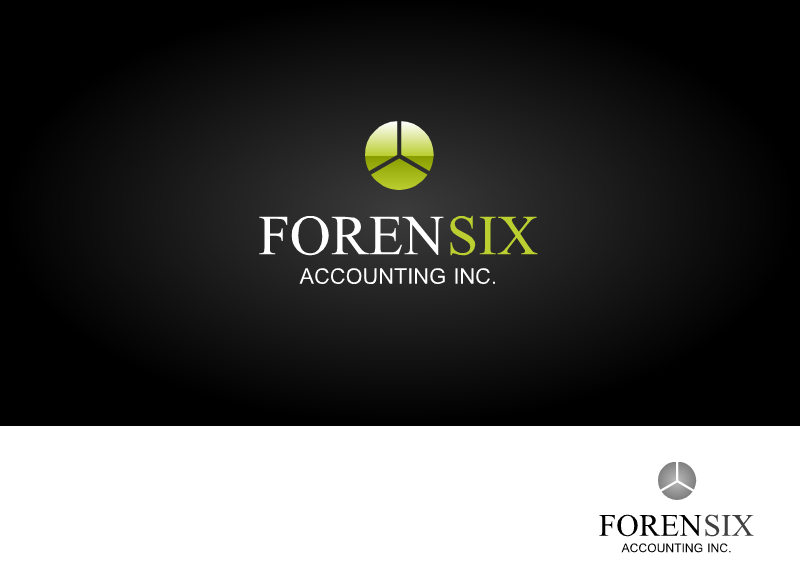 Logo Design by Tathastu Sharma - Entry No. 63 in the Logo Design Contest FORENSIX ACCOUNTING INC. Logo Design.