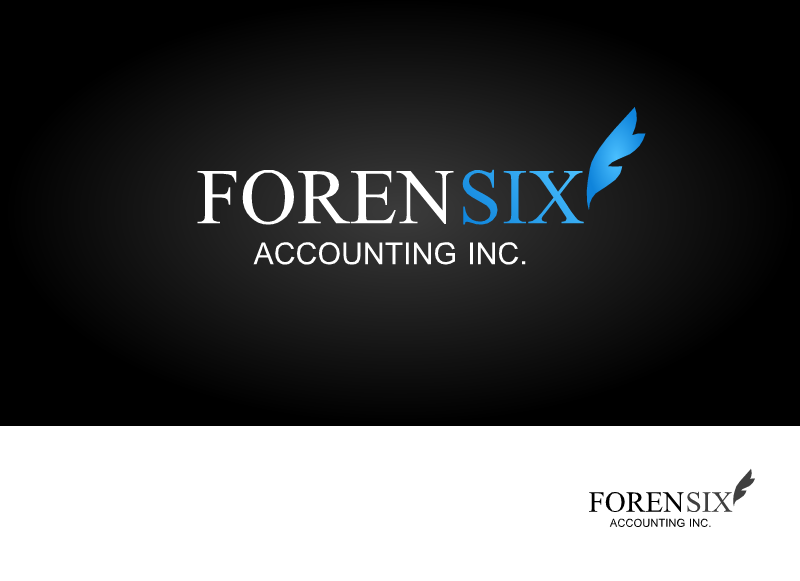 Logo Design by Tathastu Sharma - Entry No. 64 in the Logo Design Contest FORENSIX ACCOUNTING INC. Logo Design.