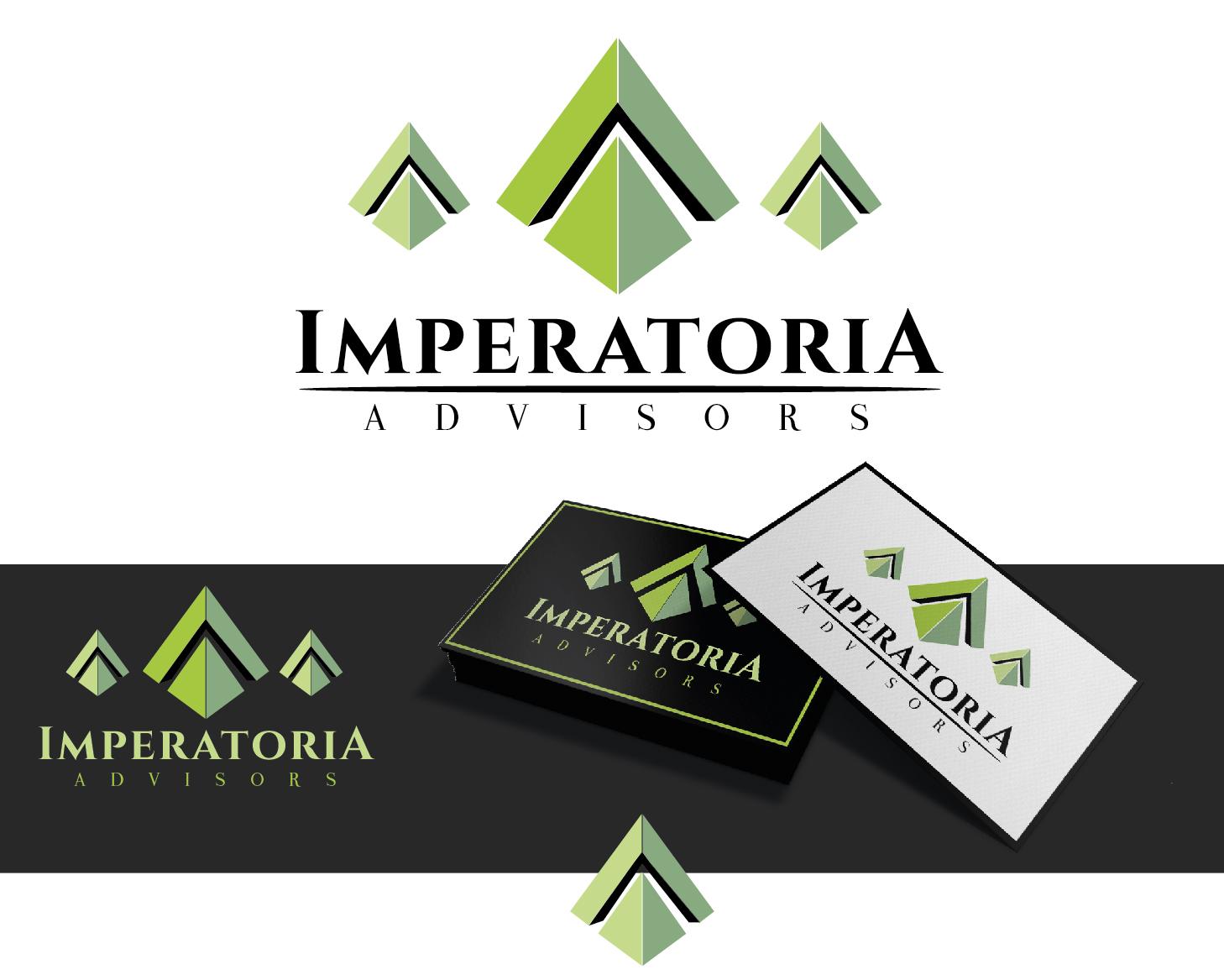 Logo Design by VENTSISLAV KOVACHEV - Entry No. 87 in the Logo Design Contest Unique Logo Design Wanted for Imperatoria Advisors.