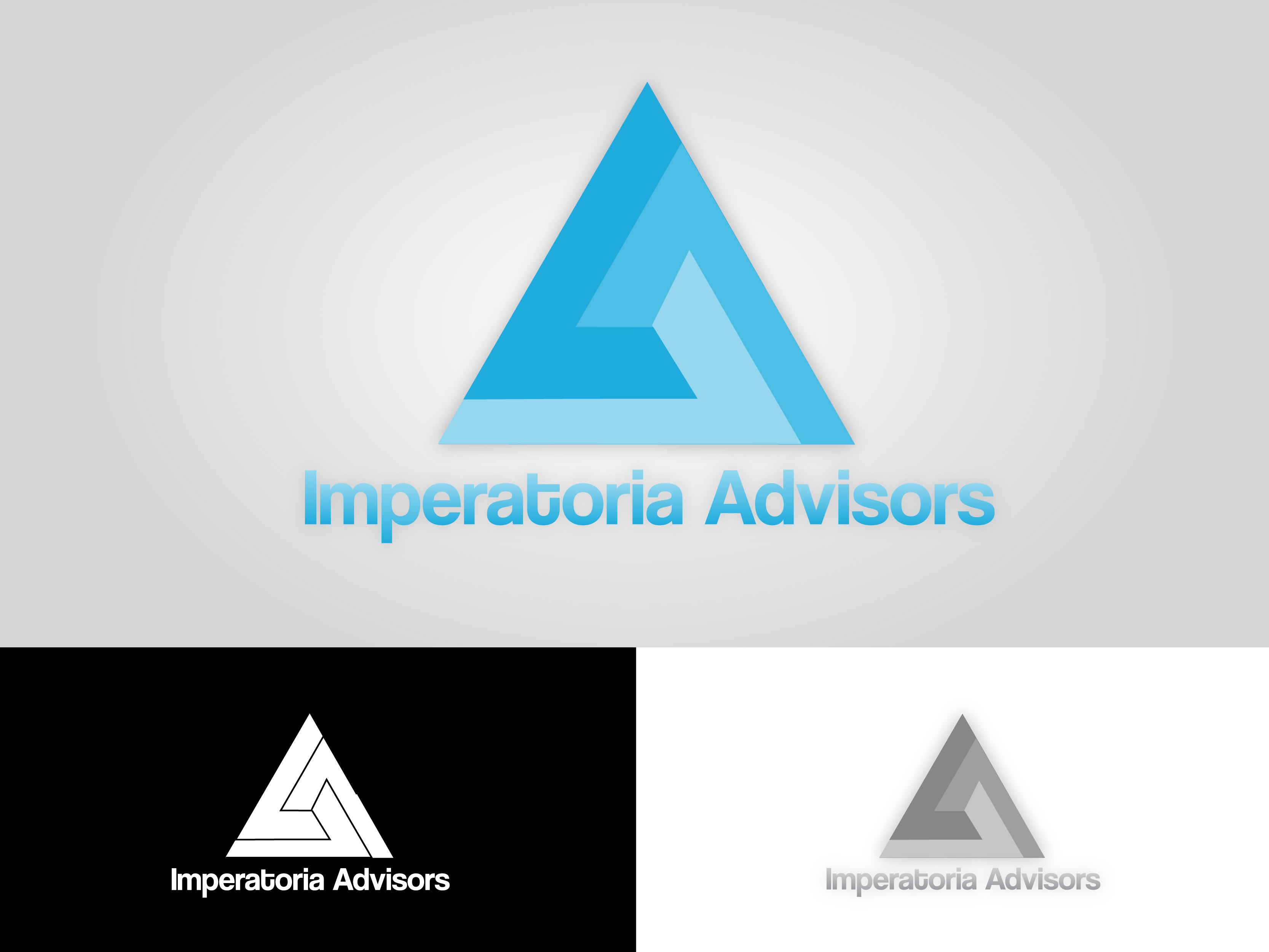 Logo Design by Vase Iliev - Entry No. 89 in the Logo Design Contest Unique Logo Design Wanted for Imperatoria Advisors.