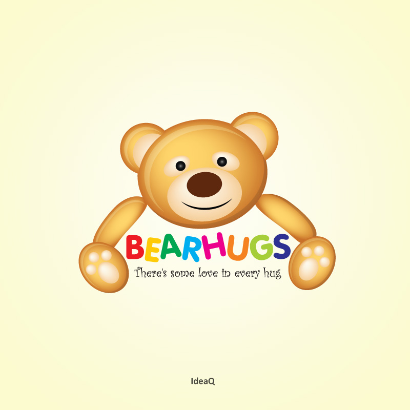 Logo Design by Private User - Entry No. 61 in the Logo Design Contest Inspiring Logo Design for BearHugs.