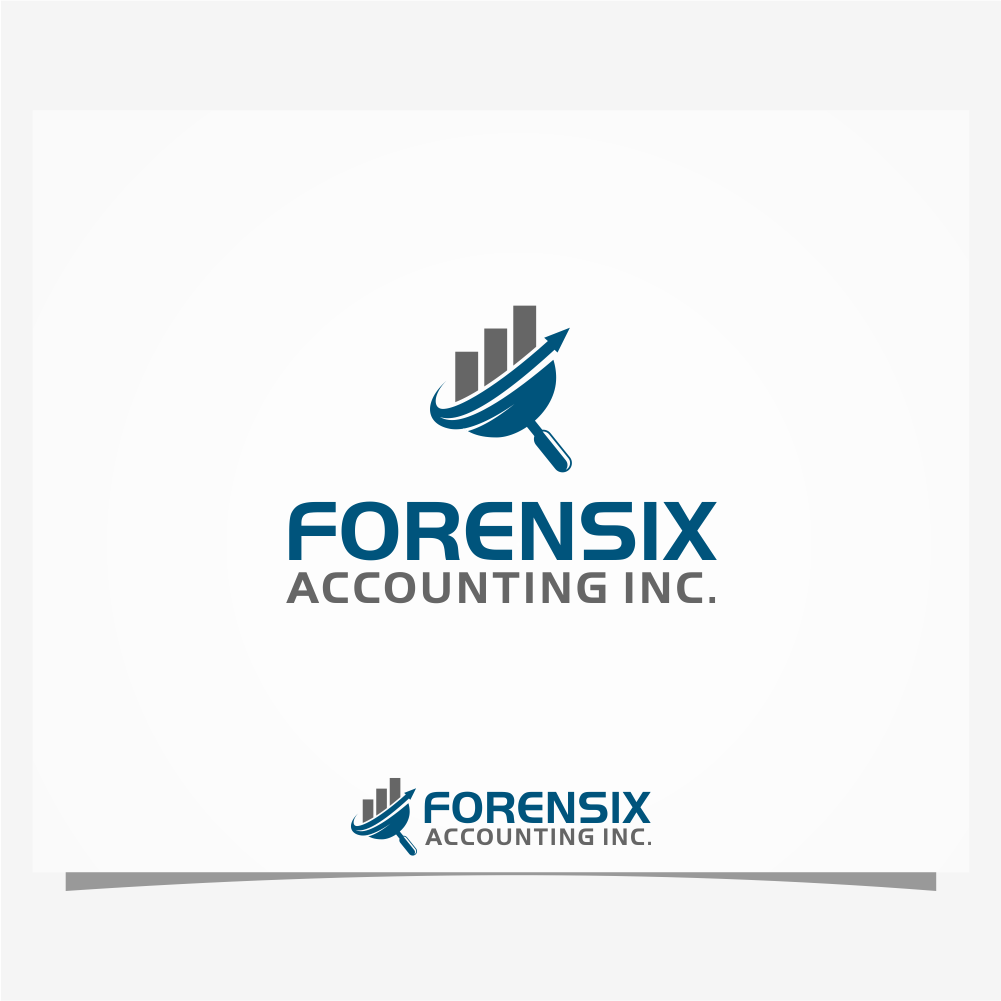 Logo Design by sevendegrees - Entry No. 69 in the Logo Design Contest FORENSIX ACCOUNTING INC. Logo Design.