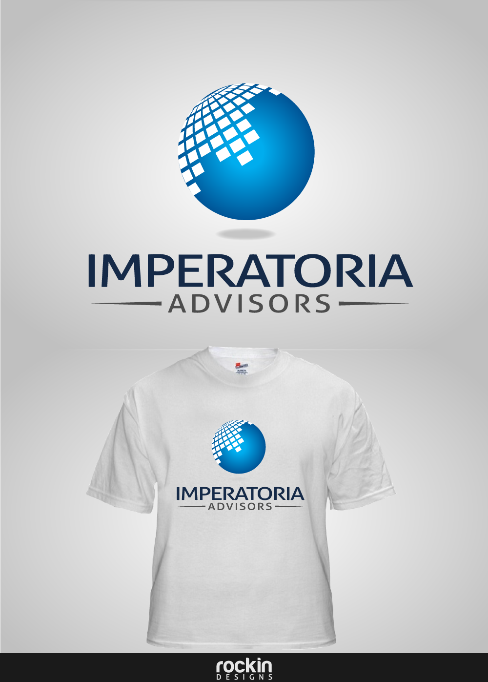 Logo Design by rockin - Entry No. 93 in the Logo Design Contest Unique Logo Design Wanted for Imperatoria Advisors.