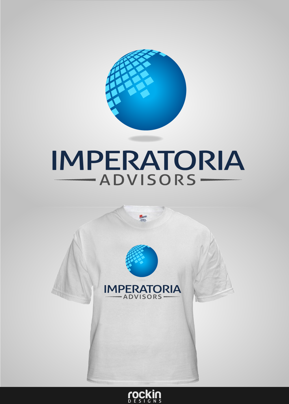 Logo Design by rockin - Entry No. 94 in the Logo Design Contest Unique Logo Design Wanted for Imperatoria Advisors.