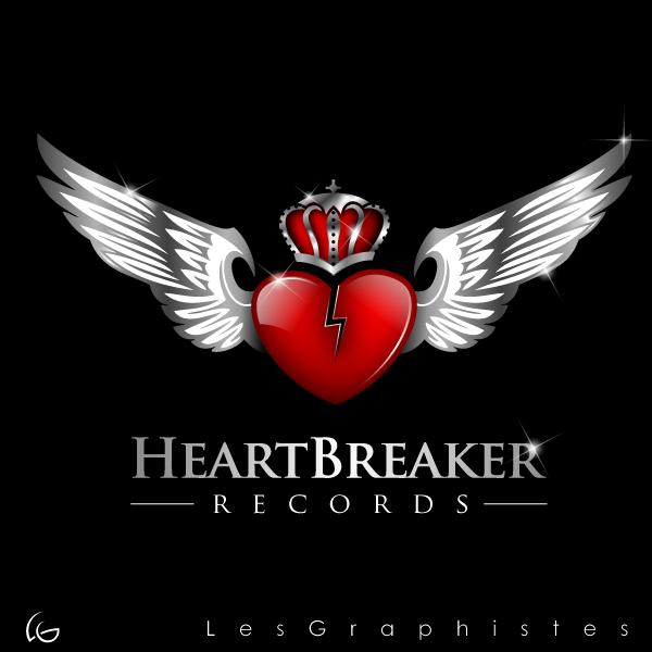 Logo Design by Les-Graphistes - Entry No. 18 in the Logo Design Contest Heartbreaker Records.