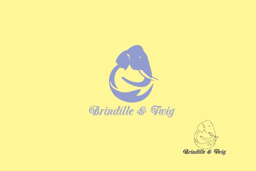 Logo Design by Digital Designs - Entry No. 38 in the Logo Design Contest Logo Design for Brindille & Twig.