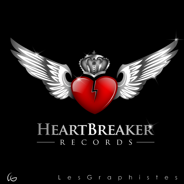 Logo Design by Les-Graphistes - Entry No. 19 in the Logo Design Contest Heartbreaker Records.