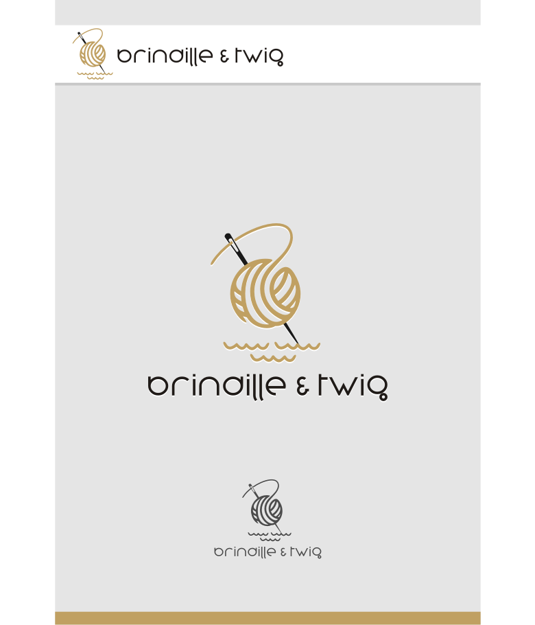 Logo Design by graphicleaf - Entry No. 39 in the Logo Design Contest Logo Design for Brindille & Twig.
