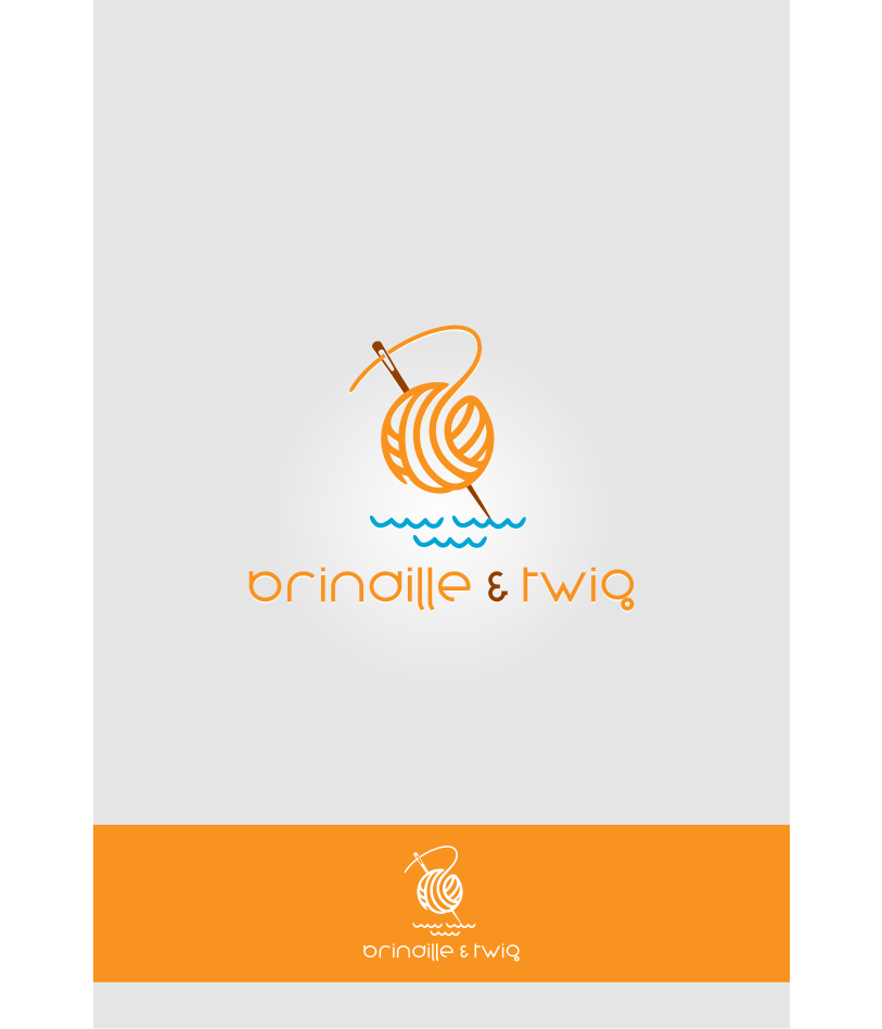 Logo Design by Muhammad Nasrul chasib - Entry No. 40 in the Logo Design Contest Logo Design for Brindille & Twig.