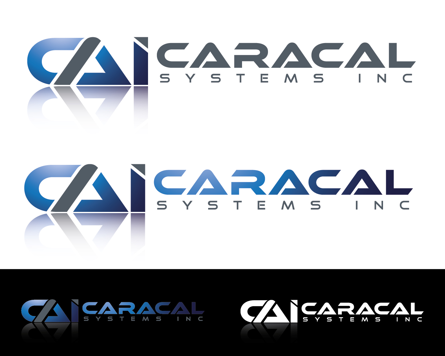 Logo Design by VENTSISLAV KOVACHEV - Entry No. 76 in the Logo Design Contest Inspiring Logo Design for Caracal Systems Inc..
