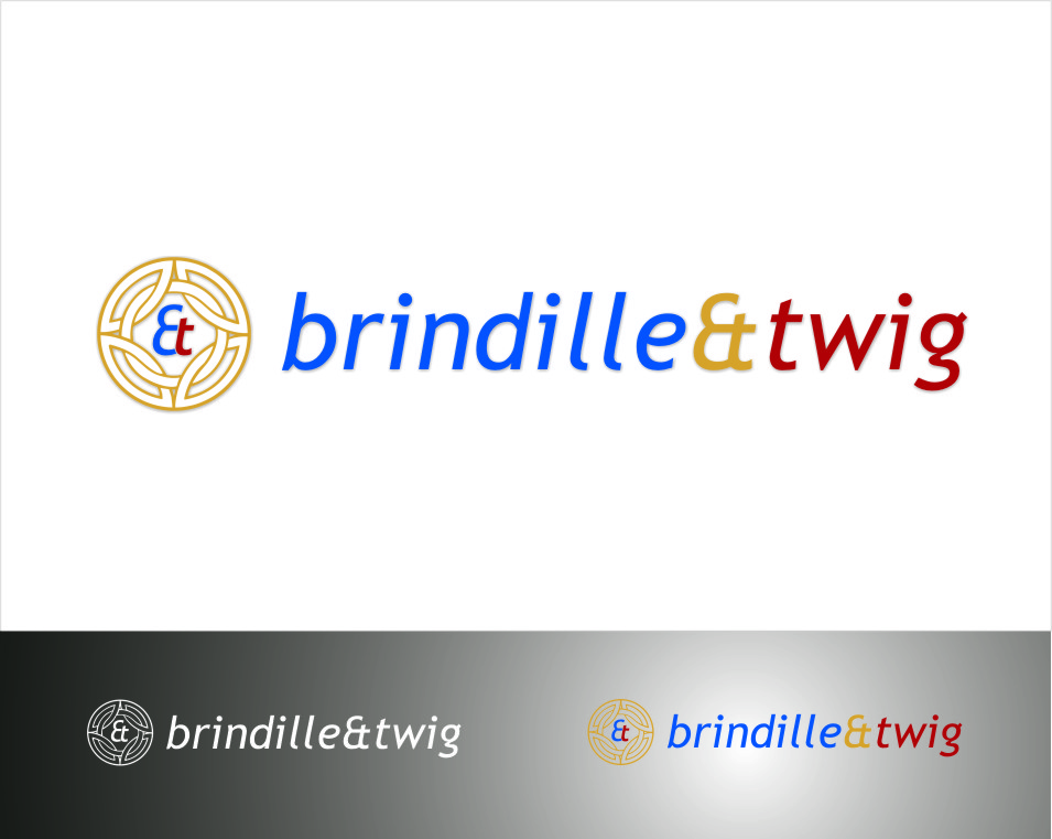 Logo Design by RasYa Muhammad Athaya - Entry No. 43 in the Logo Design Contest Logo Design for Brindille & Twig.