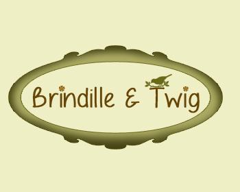 Logo Design by Crystal Desizns - Entry No. 45 in the Logo Design Contest Logo Design for Brindille & Twig.