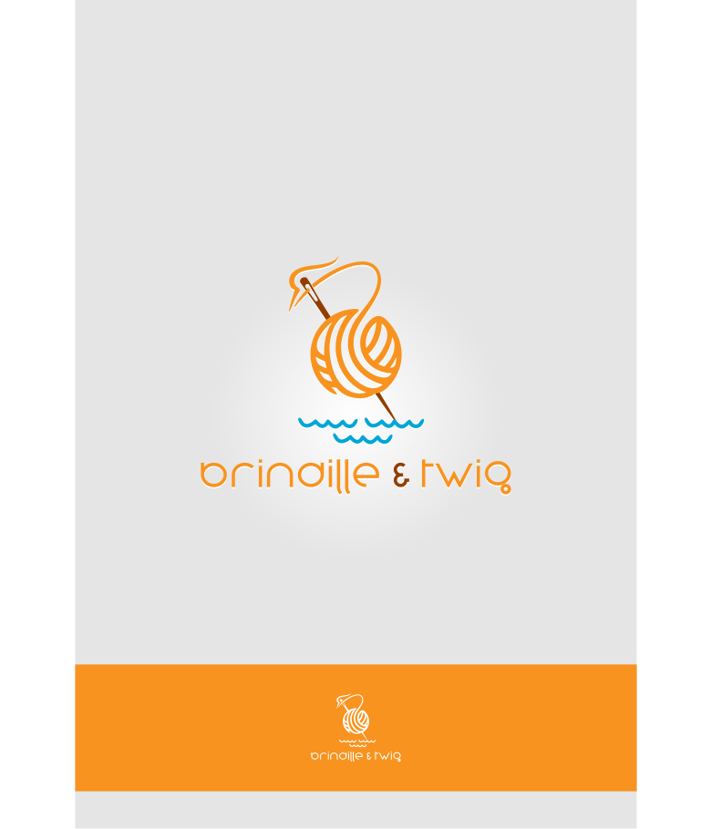 Logo Design by Muhammad Nasrul chasib - Entry No. 47 in the Logo Design Contest Logo Design for Brindille & Twig.