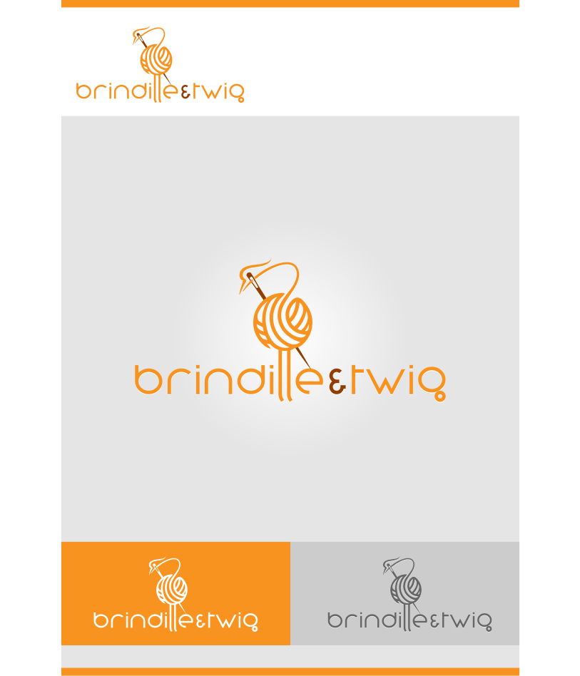 Logo Design by graphicleaf - Entry No. 49 in the Logo Design Contest Logo Design for Brindille & Twig.