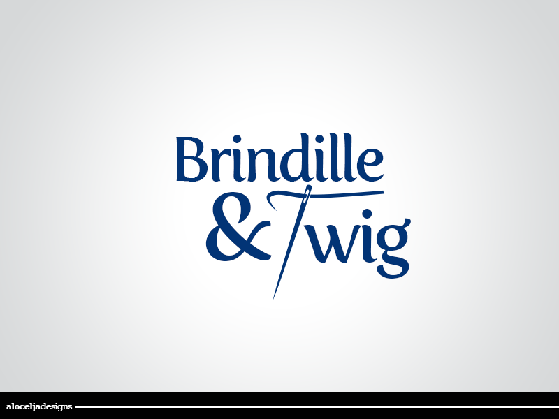 Logo Design by alocelja - Entry No. 50 in the Logo Design Contest Logo Design for Brindille & Twig.