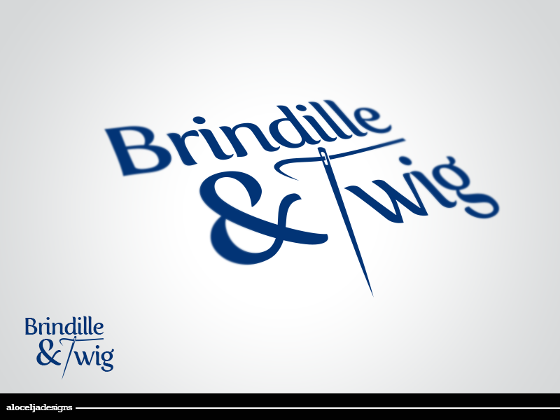 Logo Design by alocelja - Entry No. 51 in the Logo Design Contest Logo Design for Brindille & Twig.