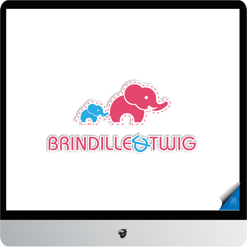Logo Design by zesthar - Entry No. 54 in the Logo Design Contest Logo Design for Brindille & Twig.