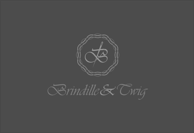 Logo Design by Ngepet_art - Entry No. 58 in the Logo Design Contest Logo Design for Brindille & Twig.