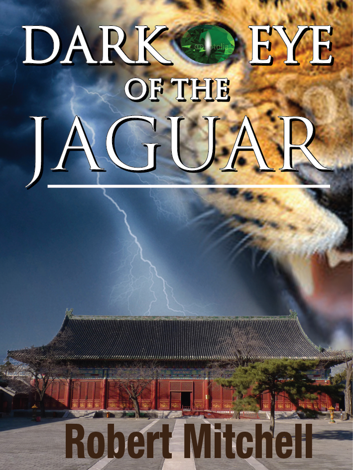 Book Cover Design by darkobovan - Entry No. 92 in the Book Cover Design Contest Imaginative Book Cover Design for Dark Eye of the Jaguar.