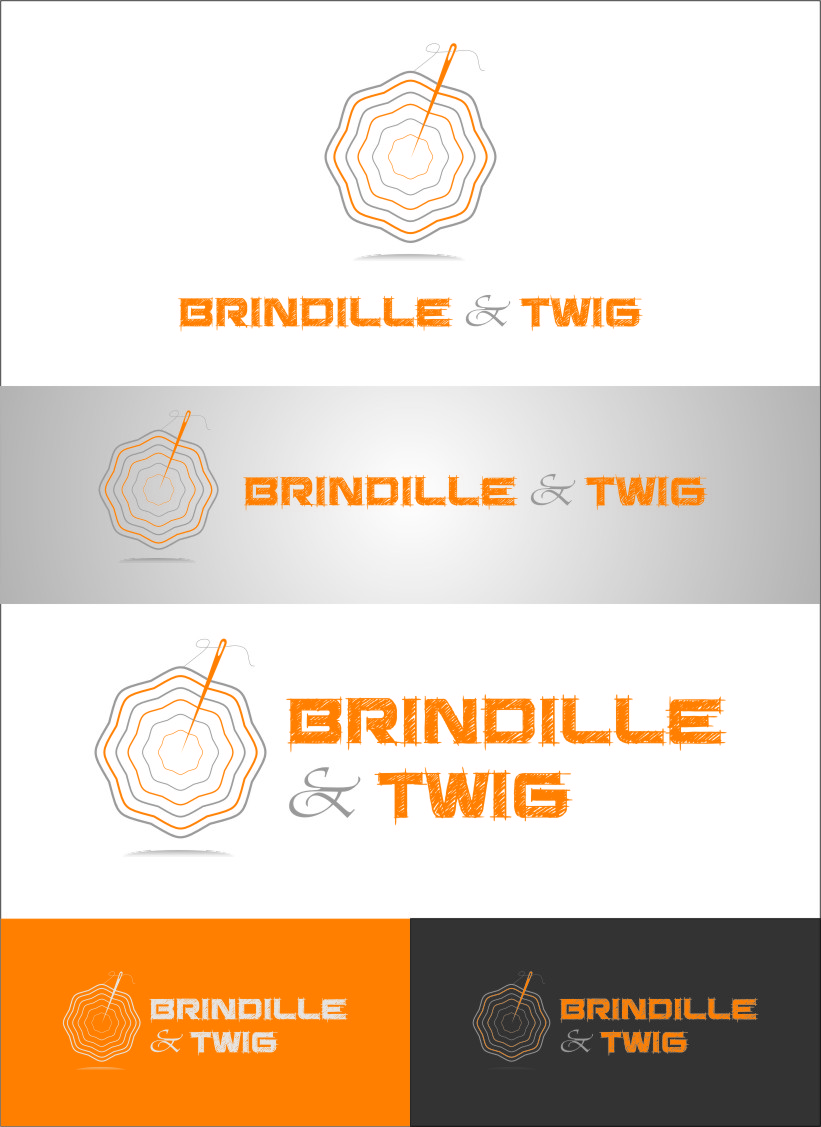 Logo Design by RasYa Muhammad Athaya - Entry No. 61 in the Logo Design Contest Logo Design for Brindille & Twig.