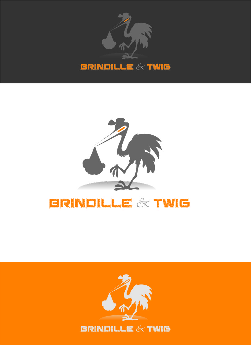 Logo Design by RasYa Muhammad Athaya - Entry No. 62 in the Logo Design Contest Logo Design for Brindille & Twig.
