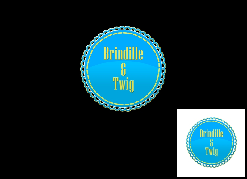 Logo Design by Juan_Kata - Entry No. 63 in the Logo Design Contest Logo Design for Brindille & Twig.