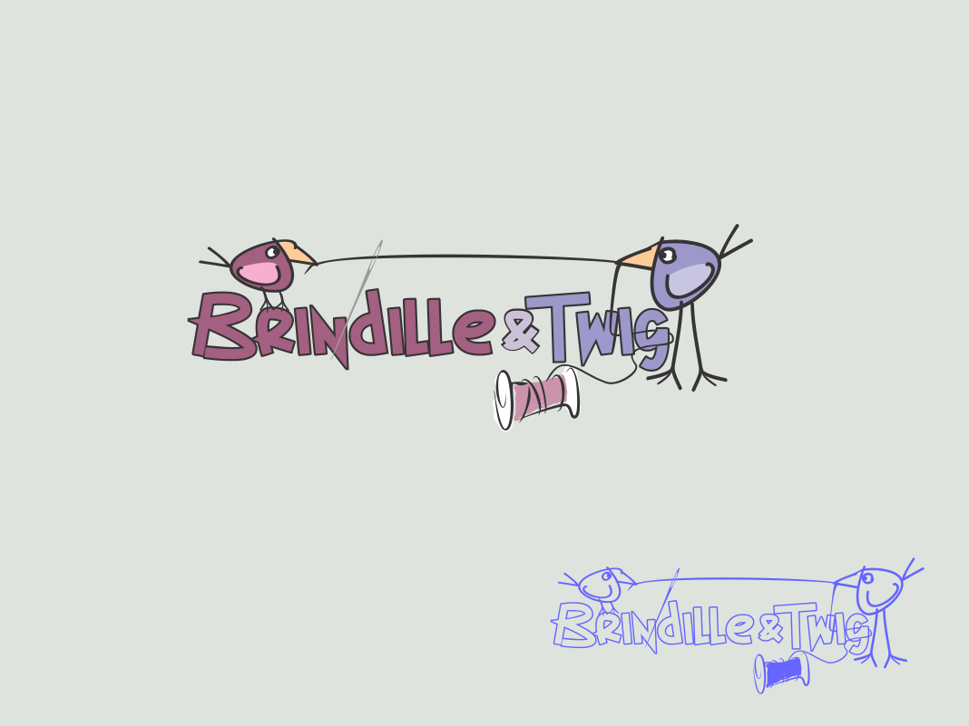 Logo Design by Chris Frederickson - Entry No. 69 in the Logo Design Contest Logo Design for Brindille & Twig.