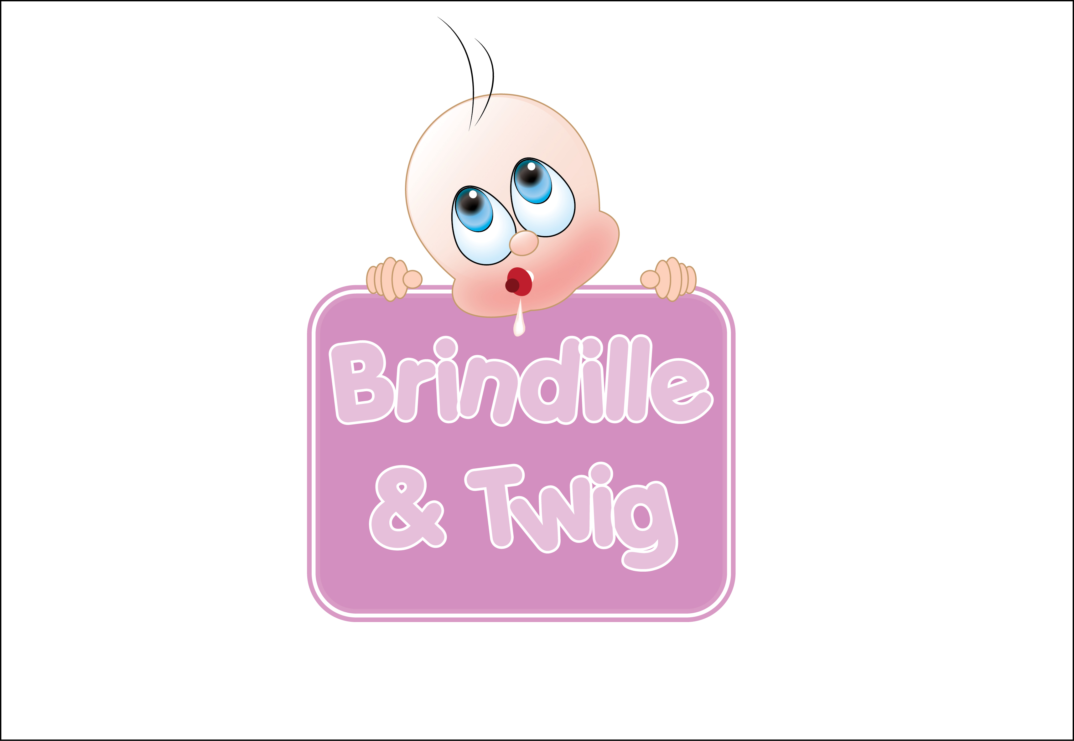 Logo Design by Chandrodayan Mavadian - Entry No. 70 in the Logo Design Contest Logo Design for Brindille & Twig.