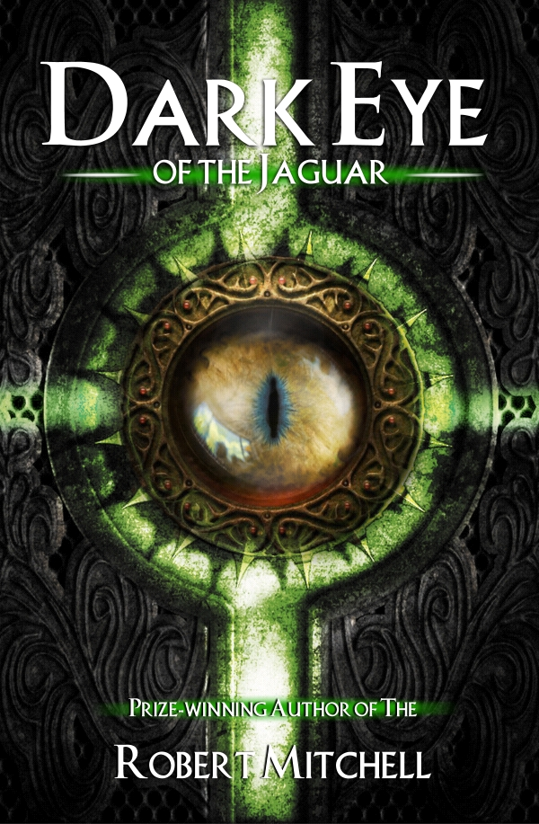 Book Cover Design by Private User - Entry No. 93 in the Book Cover Design Contest Imaginative Book Cover Design for Dark Eye of the Jaguar.