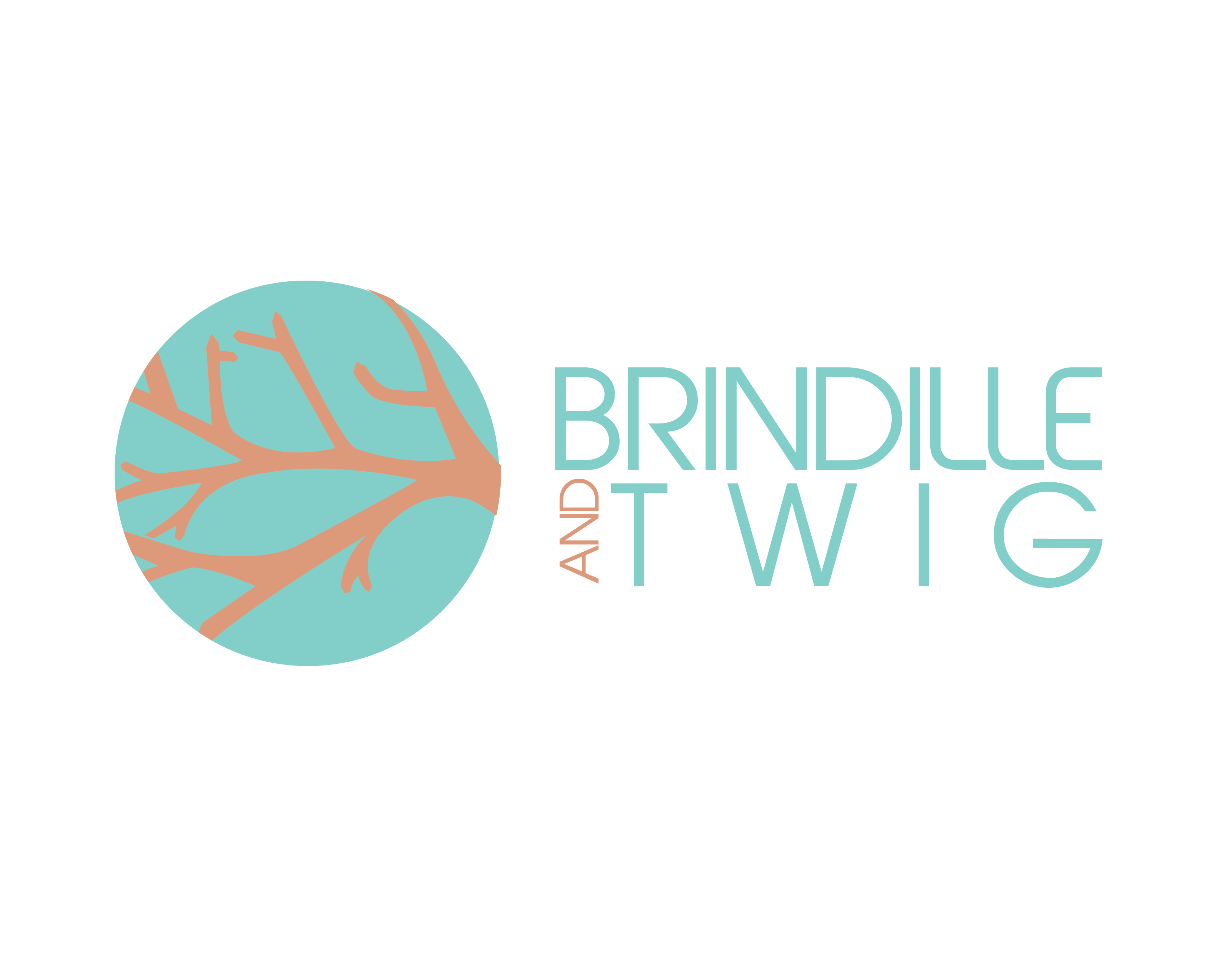Logo Design by Gretchen Romin - Entry No. 72 in the Logo Design Contest Logo Design for Brindille & Twig.