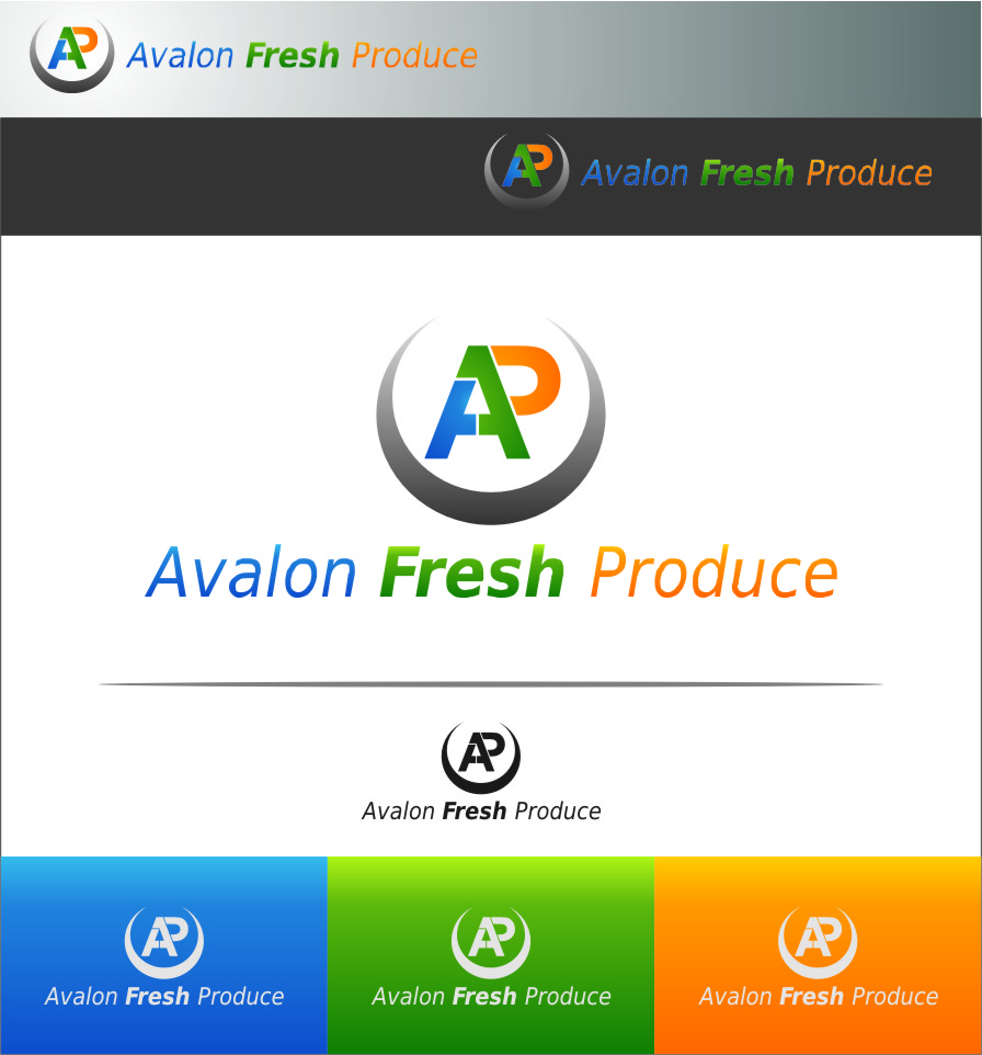 Logo Design by Ngepet_art - Entry No. 3 in the Logo Design Contest Unique Logo Design Wanted for Avalon Fresh Produce.
