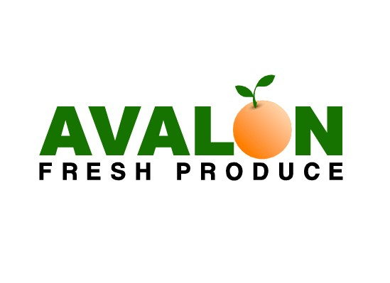 Logo Design by Ismail Adhi Wibowo - Entry No. 6 in the Logo Design Contest Unique Logo Design Wanted for Avalon Fresh Produce.