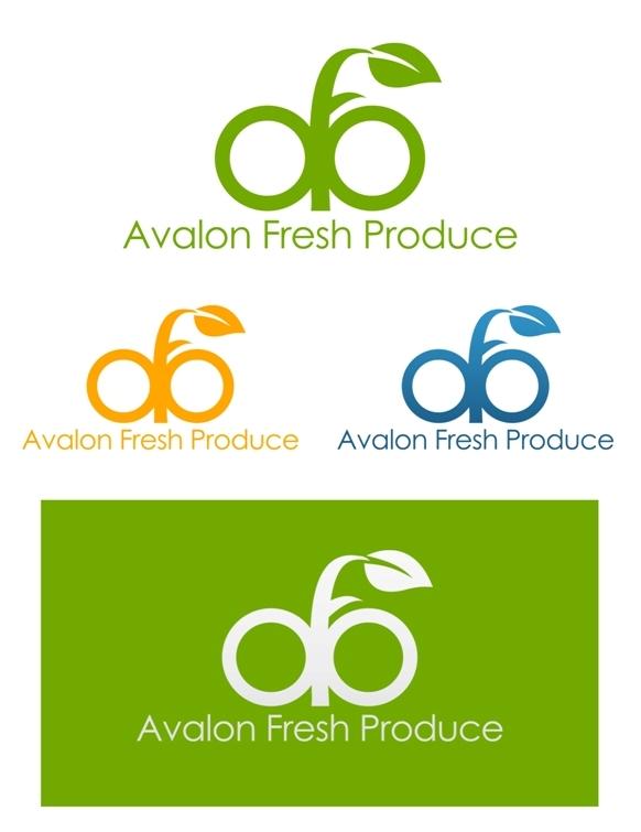 Logo Design by Juan_Kata - Entry No. 8 in the Logo Design Contest Unique Logo Design Wanted for Avalon Fresh Produce.