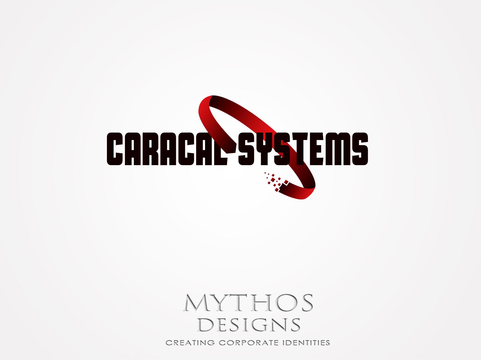 Logo Design by Mythos Designs - Entry No. 105 in the Logo Design Contest Inspiring Logo Design for Caracal Systems Inc..