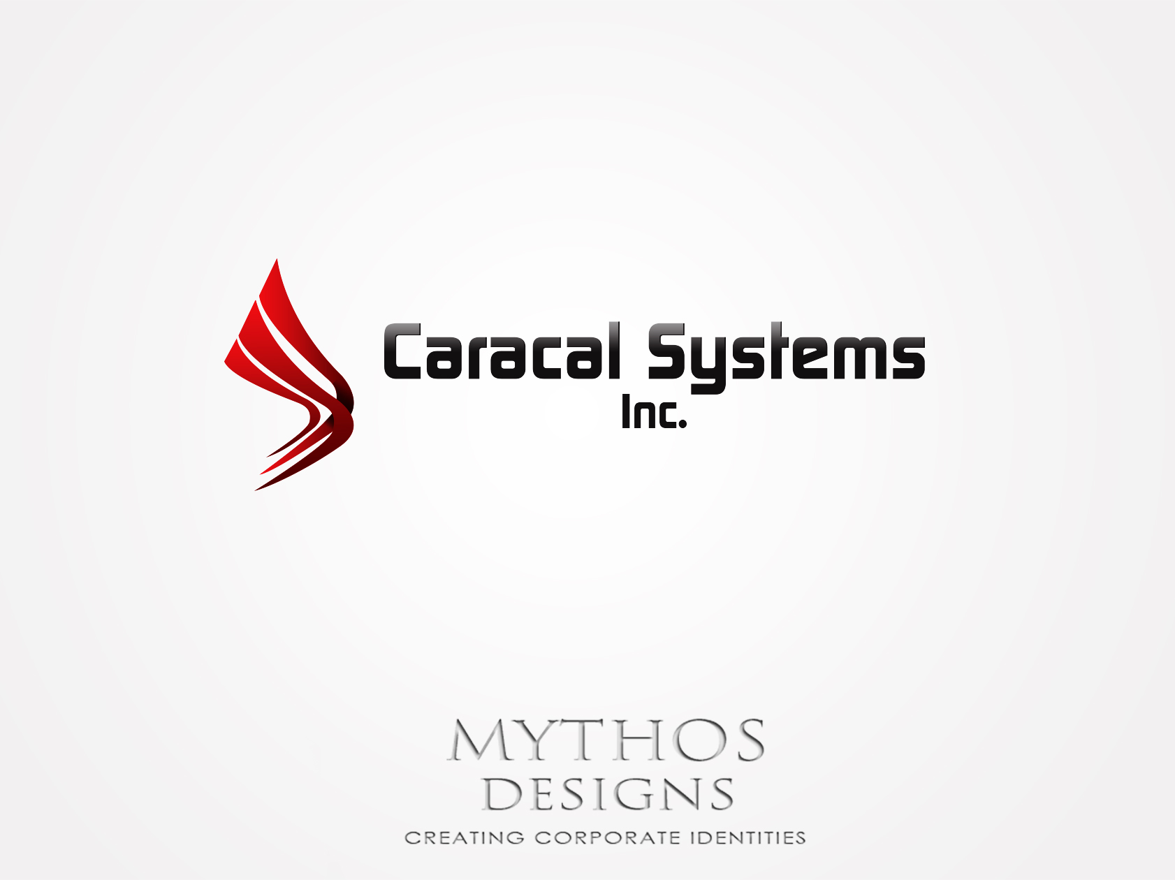 Logo Design by Mythos Designs - Entry No. 106 in the Logo Design Contest Inspiring Logo Design for Caracal Systems Inc..