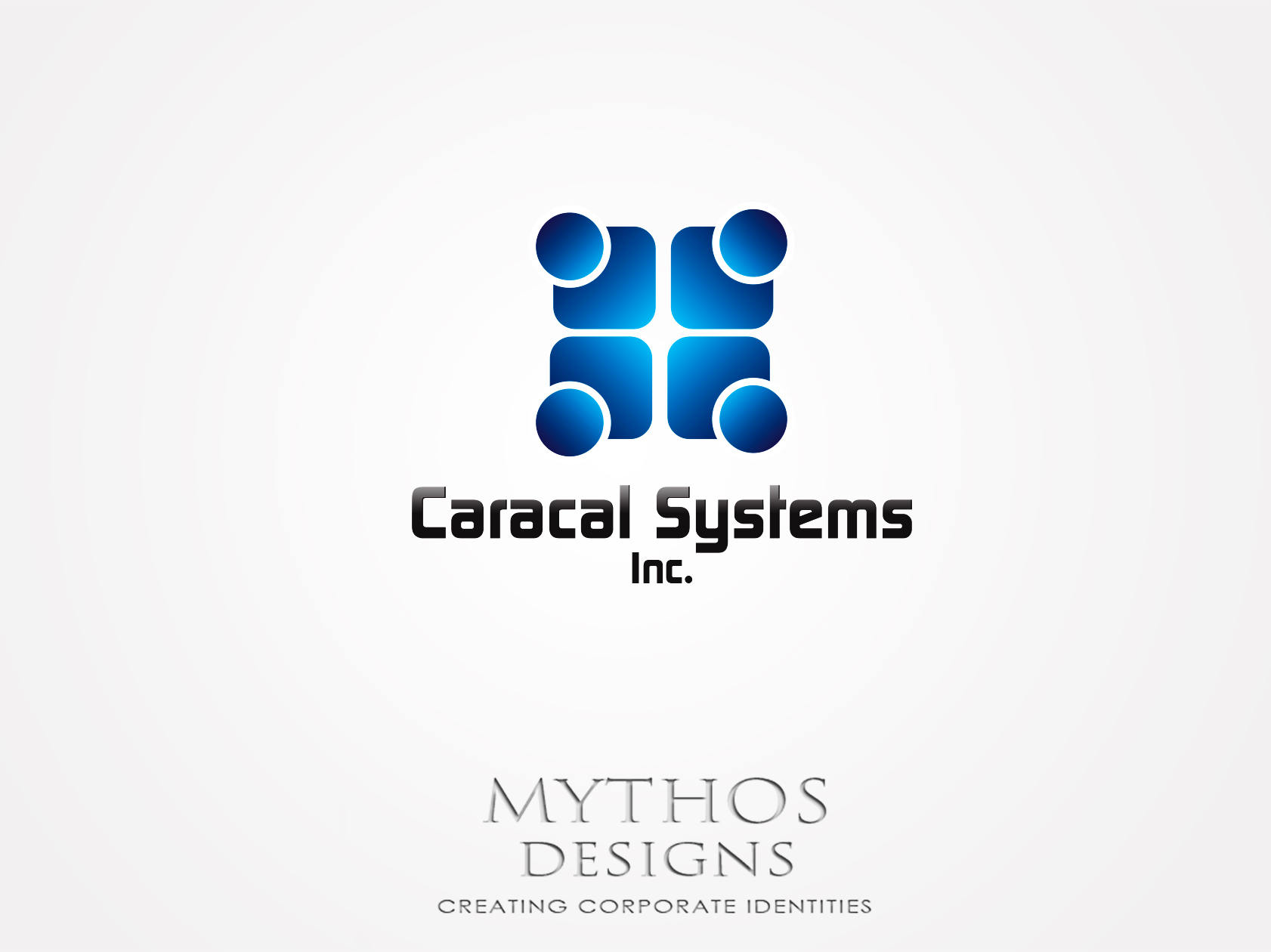 Logo Design by Mythos Designs - Entry No. 107 in the Logo Design Contest Inspiring Logo Design for Caracal Systems Inc..
