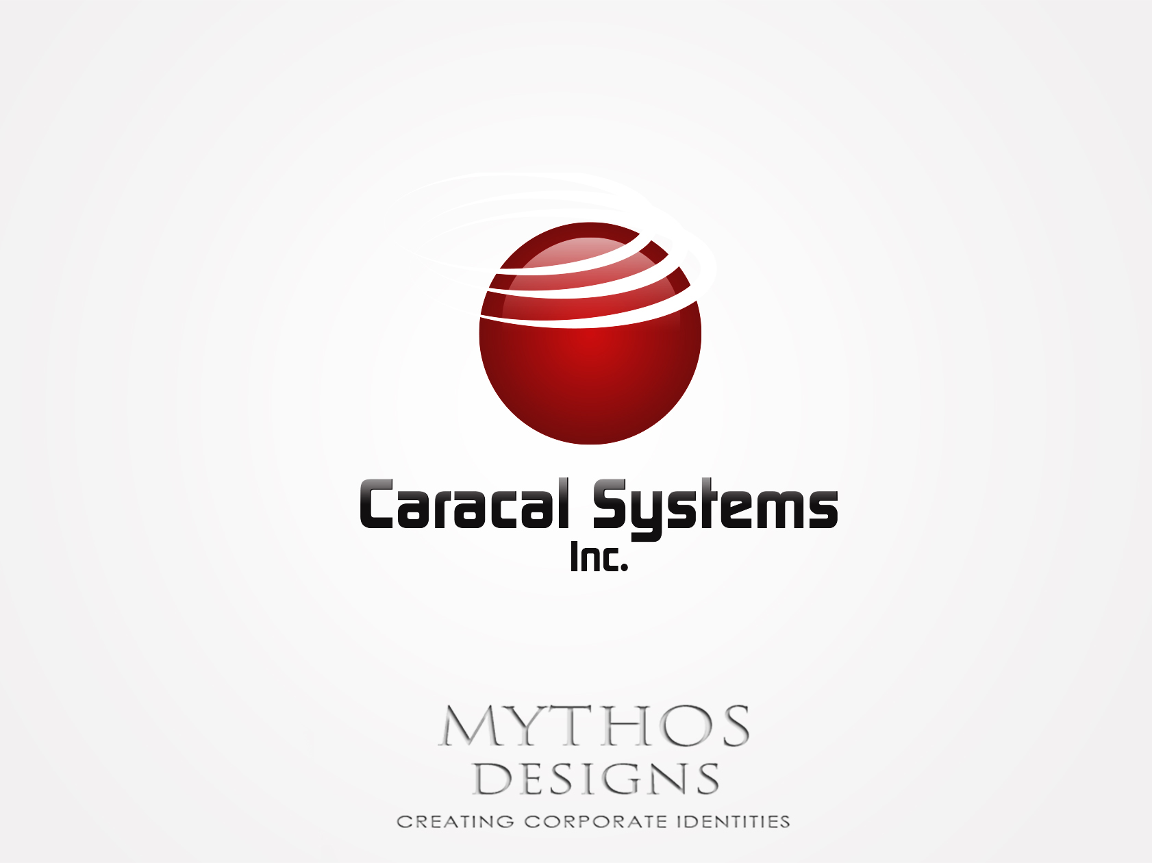 Logo Design by Mythos Designs - Entry No. 108 in the Logo Design Contest Inspiring Logo Design for Caracal Systems Inc..