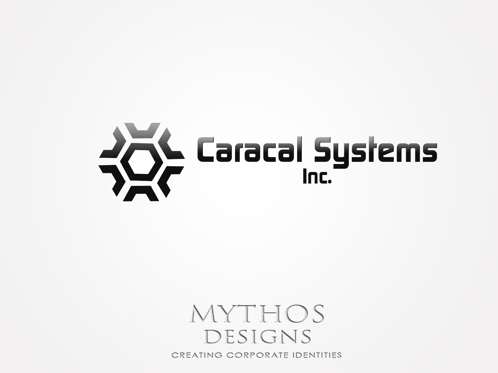 Logo Design by Mythos Designs - Entry No. 109 in the Logo Design Contest Inspiring Logo Design for Caracal Systems Inc..
