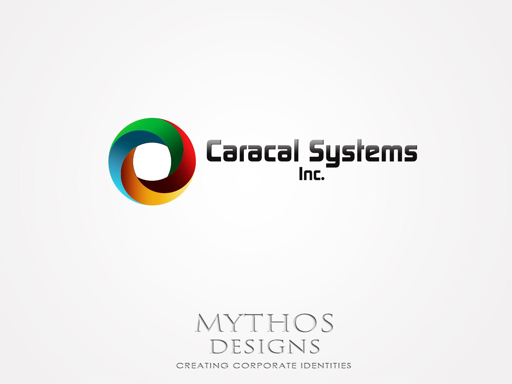 Logo Design by Mythos Designs - Entry No. 110 in the Logo Design Contest Inspiring Logo Design for Caracal Systems Inc..