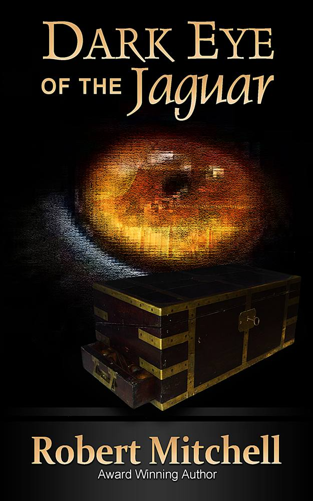 Book Cover Design by Respati Himawan - Entry No. 99 in the Book Cover Design Contest Imaginative Book Cover Design for Dark Eye of the Jaguar.