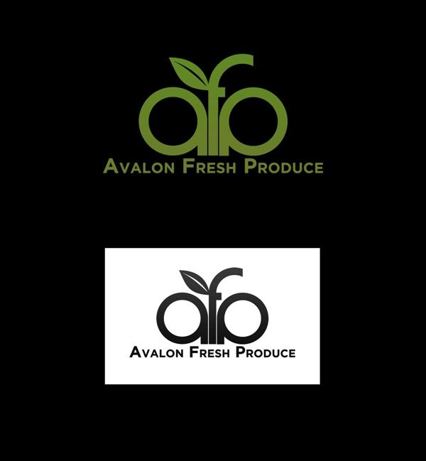 Logo Design by Juan_Kata - Entry No. 24 in the Logo Design Contest Unique Logo Design Wanted for Avalon Fresh Produce.
