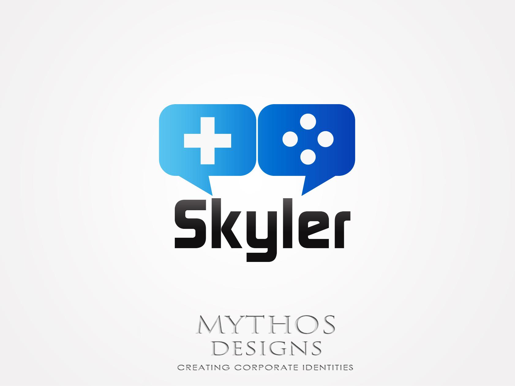 Logo Design by Mythos Designs - Entry No. 2 in the Logo Design Contest Artistic Logo Design for Skyler.Asia.