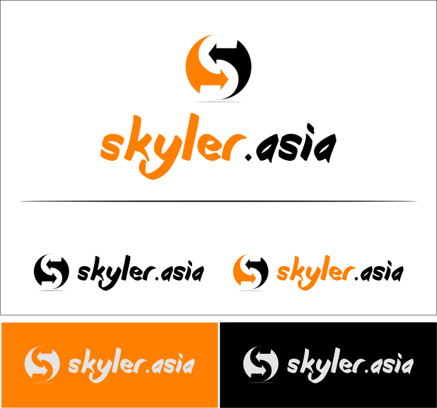 Logo Design by RasYa Muhammad Athaya - Entry No. 4 in the Logo Design Contest Artistic Logo Design for Skyler.Asia.