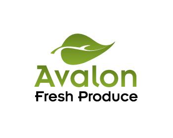 Logo Design by ibbie_ammiel2508 - Entry No. 25 in the Logo Design Contest Unique Logo Design Wanted for Avalon Fresh Produce.