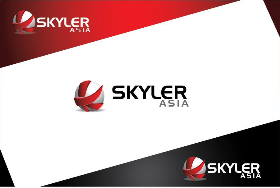 Logo Design by Private User - Entry No. 17 in the Logo Design Contest Artistic Logo Design for Skyler.Asia.