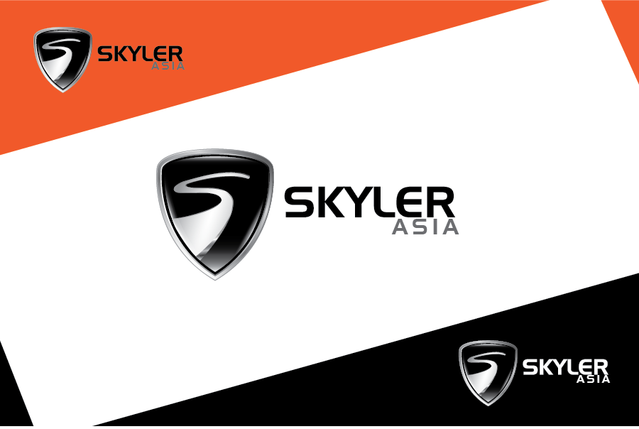 Logo Design by Private User - Entry No. 19 in the Logo Design Contest Artistic Logo Design for Skyler.Asia.