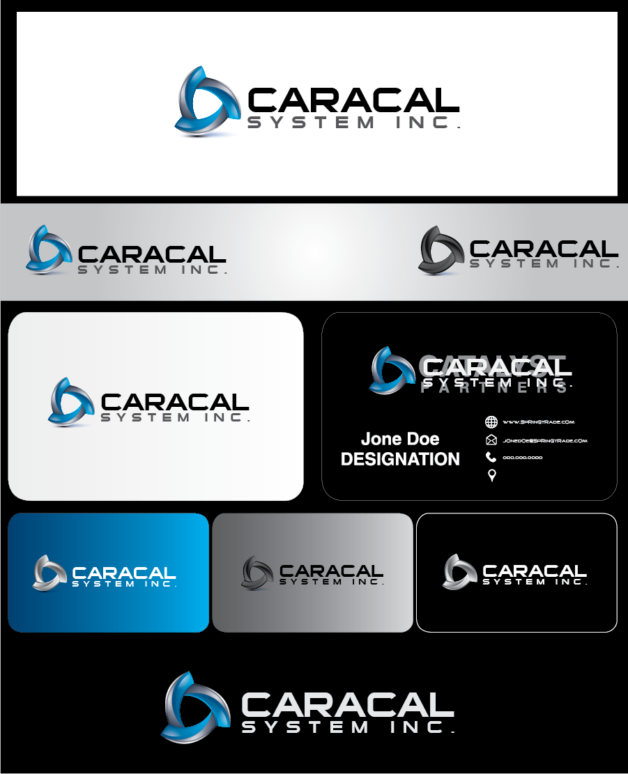 Logo Design by Private User - Entry No. 121 in the Logo Design Contest Inspiring Logo Design for Caracal Systems Inc..